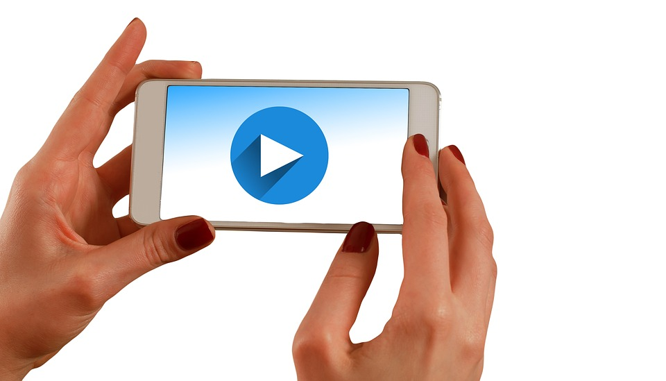 video on cell phone